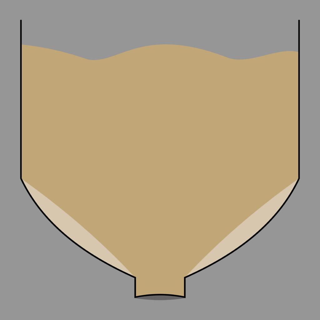 Holzpellets Bunker